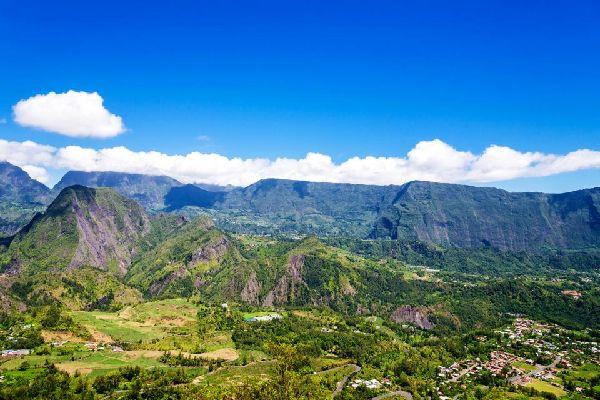 Les Hauts , Les cirques de La Réunion , Réunion