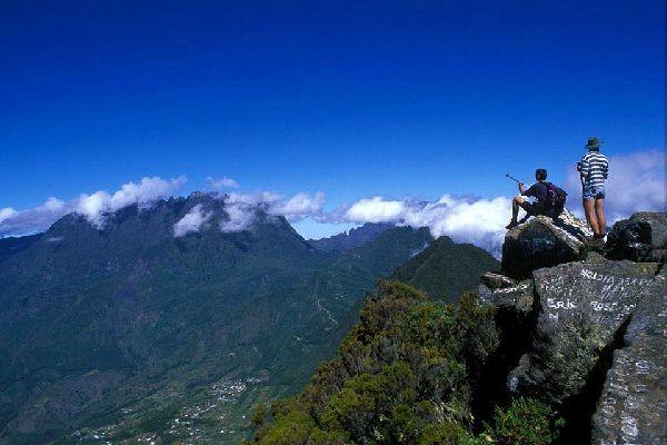 Les Hauts , Randonnée , Réunion