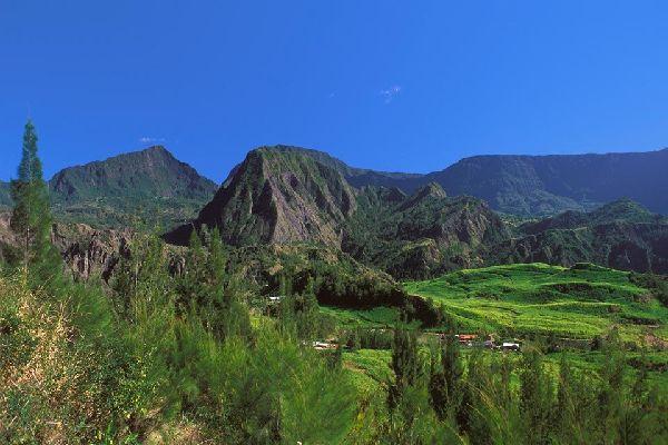 Les Hauts , Les sommets réunionnais , Réunion