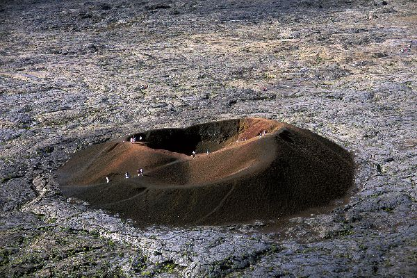Le piton de la Fournaise , Randonnée au volcan , Réunion