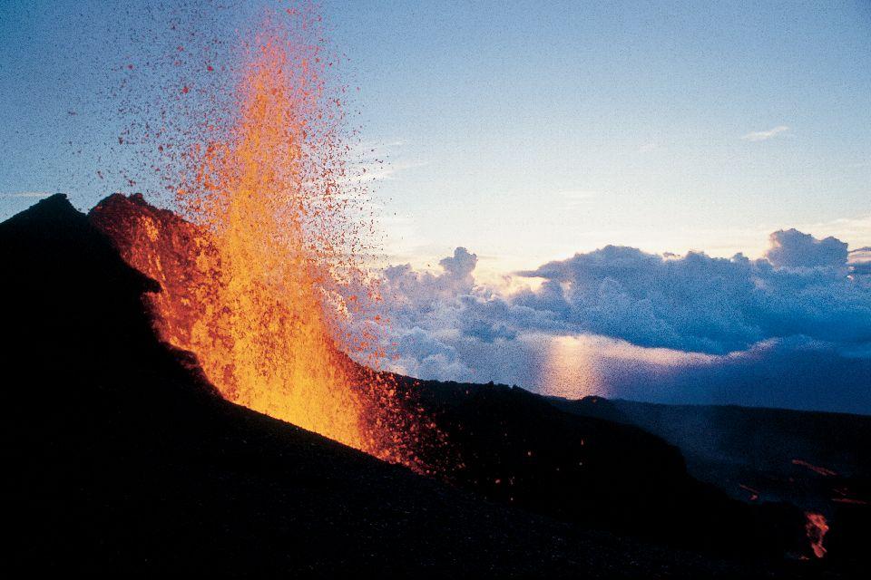 Der Vulkan Piton de la Fournaise , Der Piton de la Fournaise , Réunion