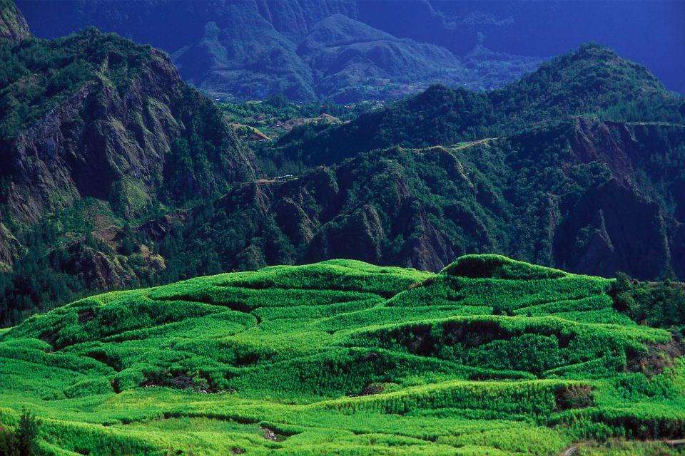 Les paysages, réunion, île, océan indien