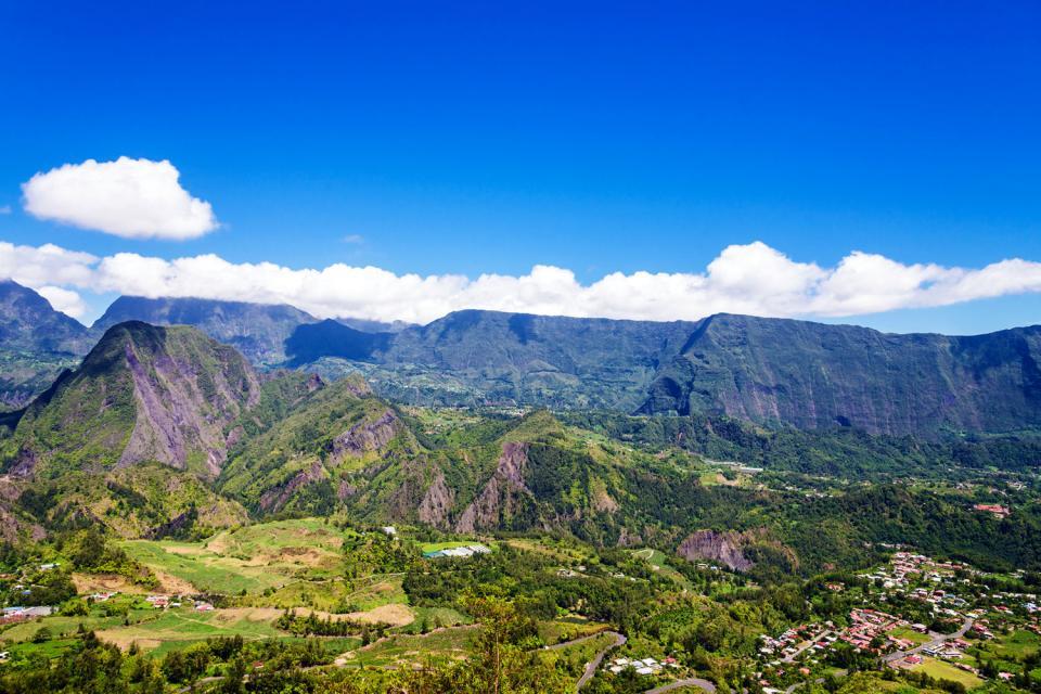 Le cirque de Salazie , Population , Réunion