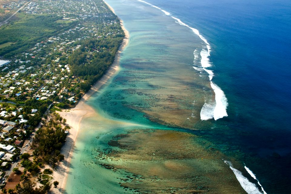 Les côtes, réunion, île, océan indien, mascareignes, archipel