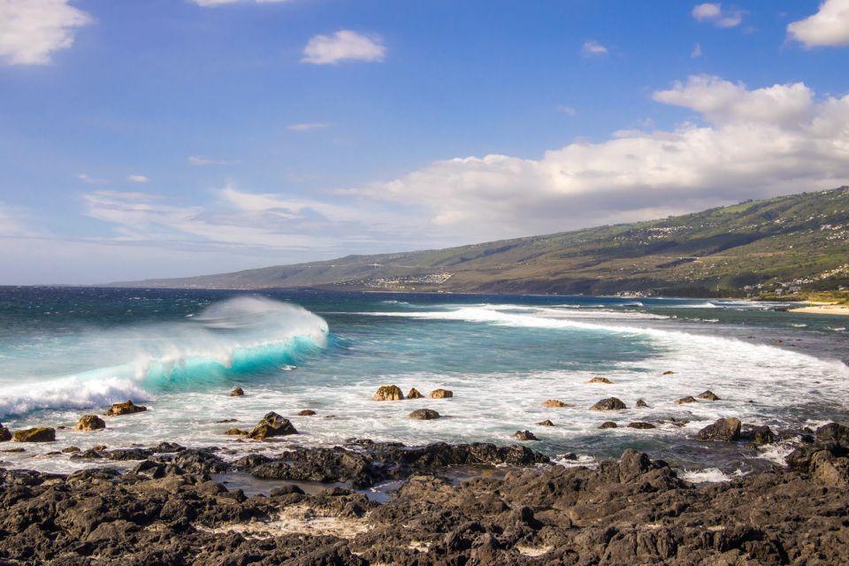Les côtes, Ile, la réunion, océan indien, saint-leu, leu, océan, nature, plage, pointe au sel