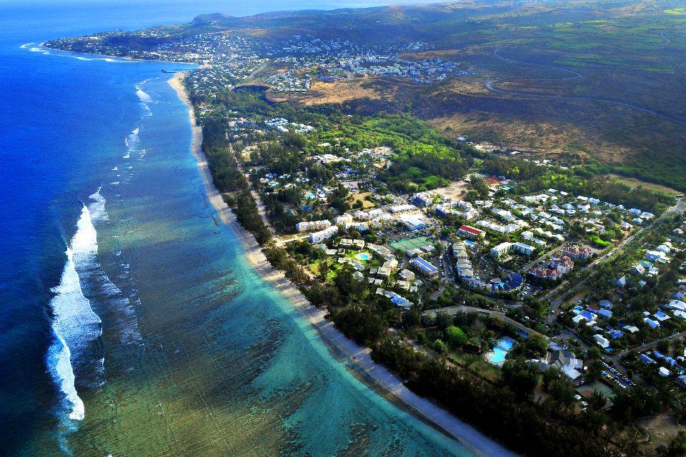 Die Lagune von Saint-Gilles , Réunion