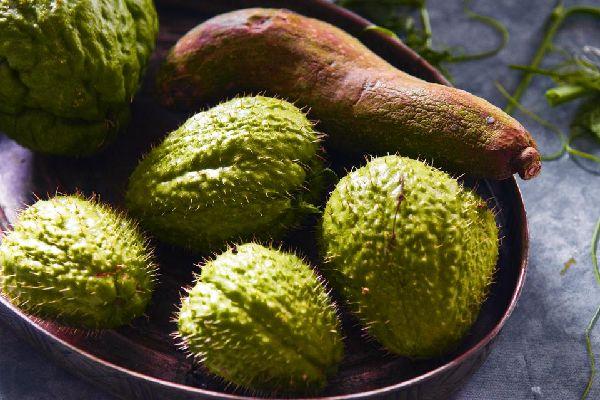 """La vegetación endémica de los """"Hauts"""" , Las frutas de la Reunión , Reunión"""