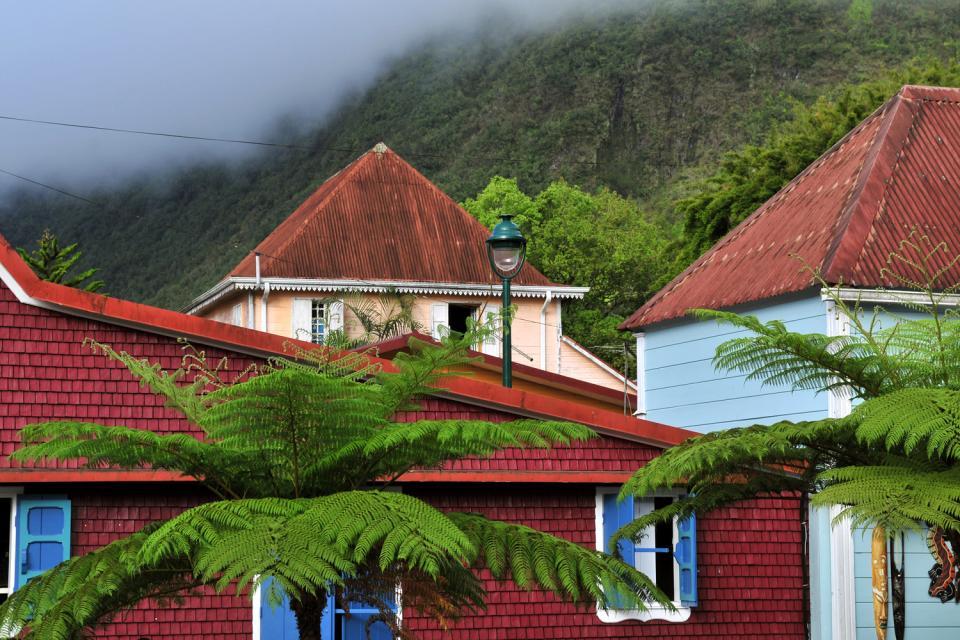 L'architecture créole , Les habitations créoles , Réunion
