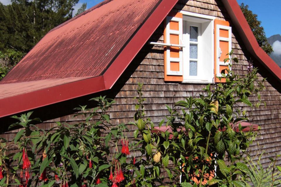 L'architecture créole , Les maisons créoles , Réunion