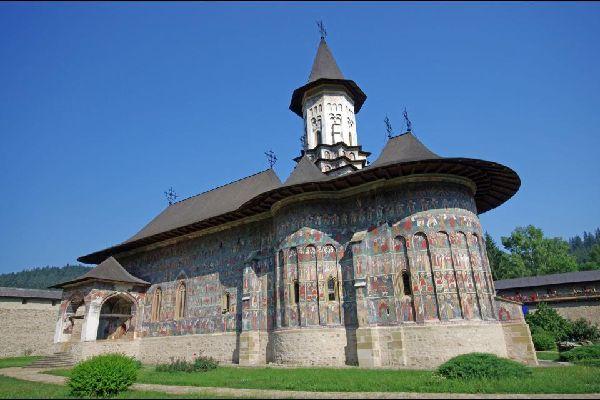 Les monastères de Bucovine , Le monastère de Sucevita, Suceava , Roumanie