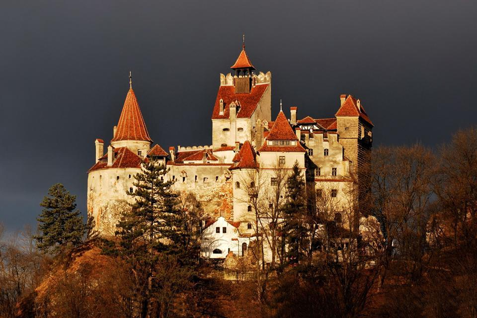 Dracula's castles , A listed national monument , Romania