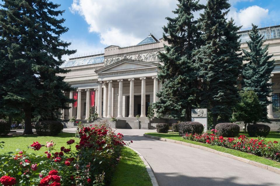 Die Museen , Das Puschkin-Museum , Russland