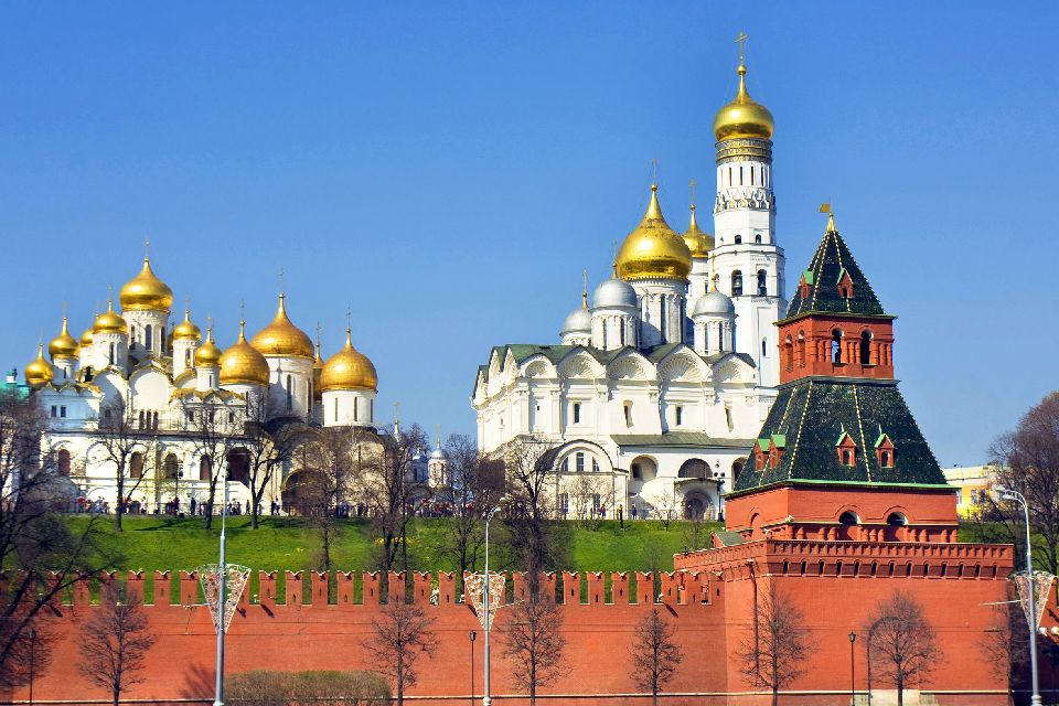 The Kremlin , Assumption Cathedral , Russia