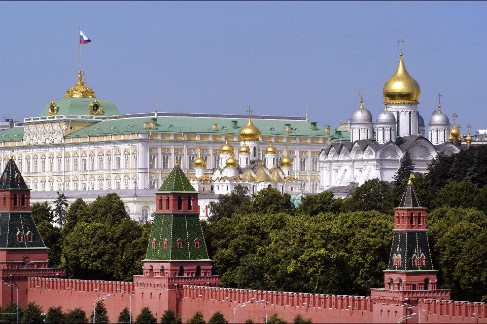 The Kremlin , The Cathedral of Christ the Saviour , Russia