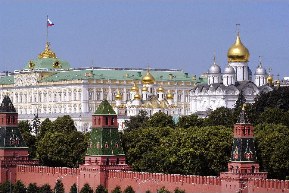 El Kremlin , La catedral de St-Sauveur , Rusia