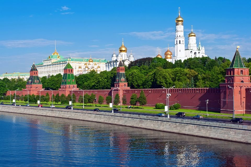 The Kremlin , A city in the city , Russia
