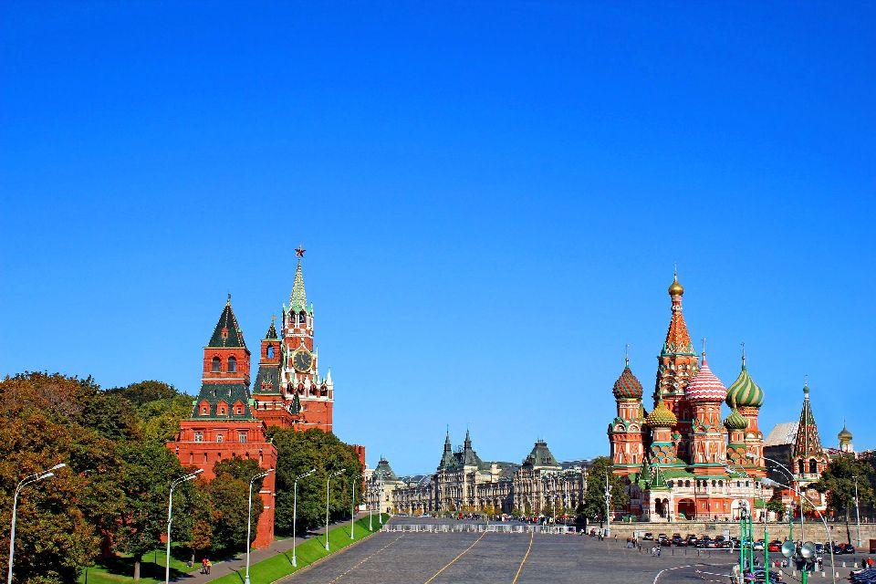 Der Rote Platz , Warenhaus GUM , Russland