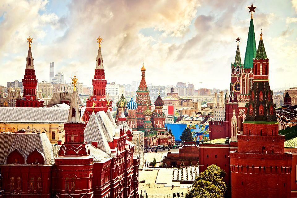 Der Rote Platz , Russland