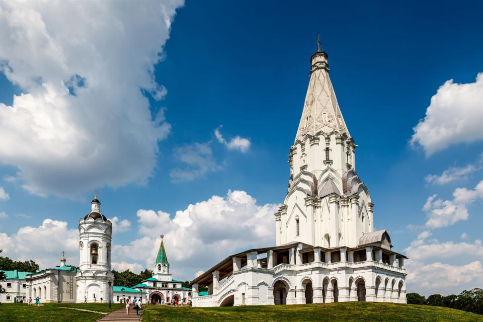 I parchi , Il parco Kolomenskoje , Russia
