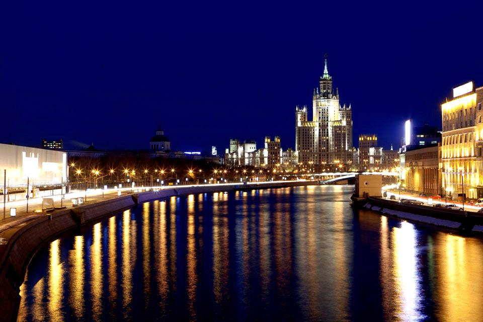 Moscow by night , Russia