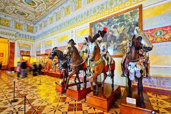Die Eremitage , Das Eremitage-Museum , Russland