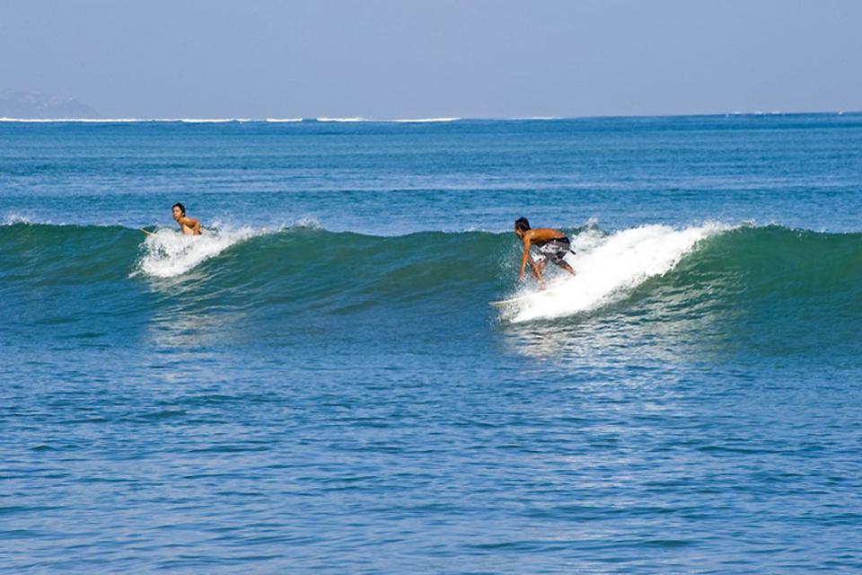 The beaches , Surfing in Kuta , Indonesia