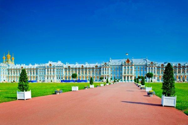 Zarskoje Selo , Der Große Katharinenpalast in Puschkin , Russland