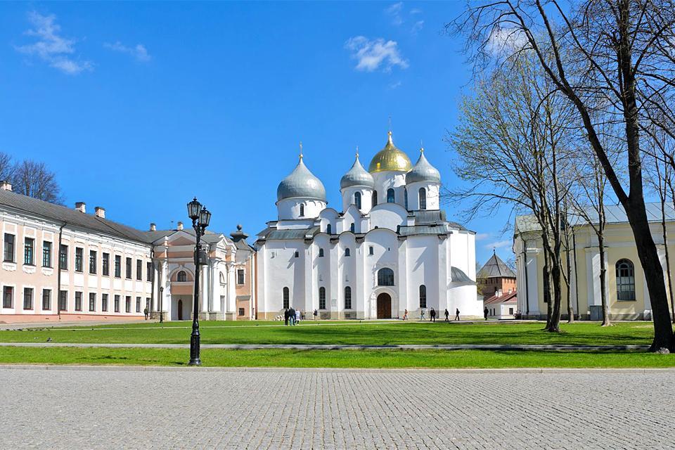 Die Sehenswürdigkeiten von Nowgorod , Russland