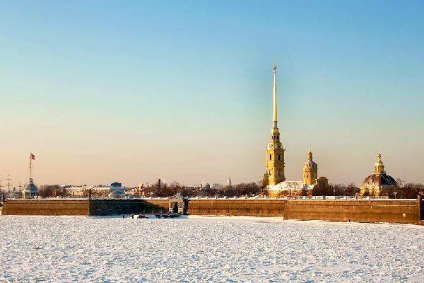 Die Peter-und-Paul-Festung , Russland