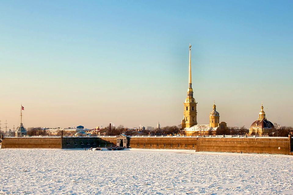 La forteresse Pierre-et-Paul , Russie