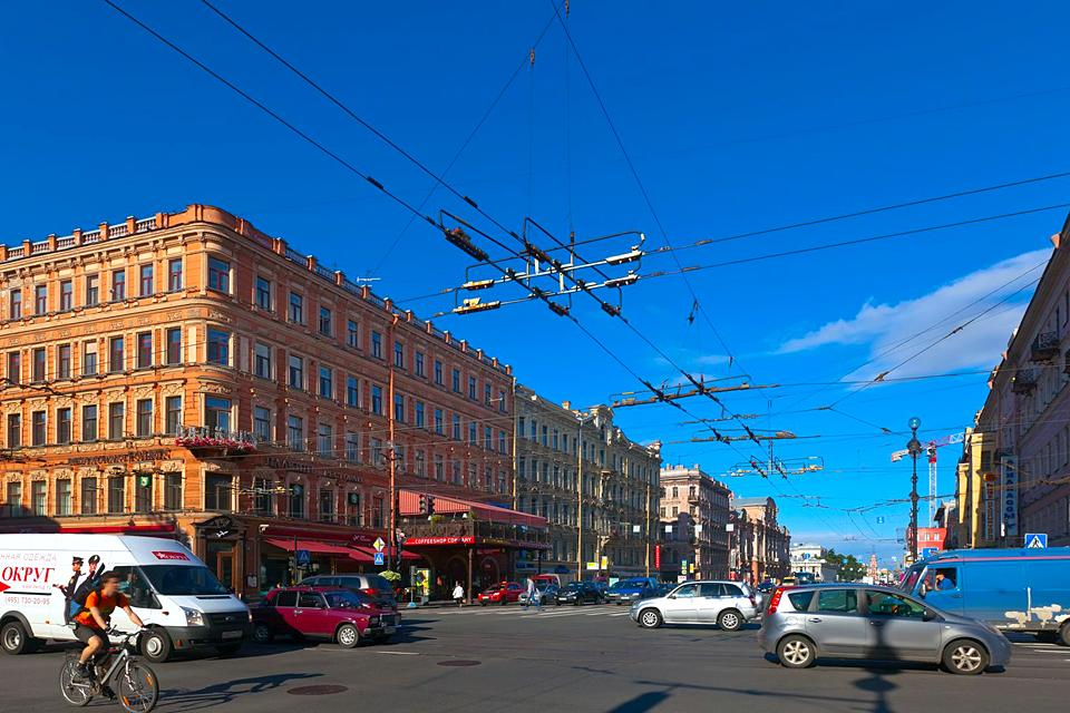 Der Nevski-Prospekt , Russland