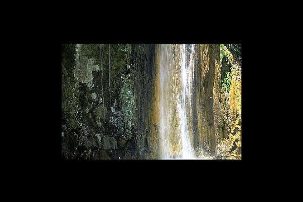 Diamond Falls , St Lucia