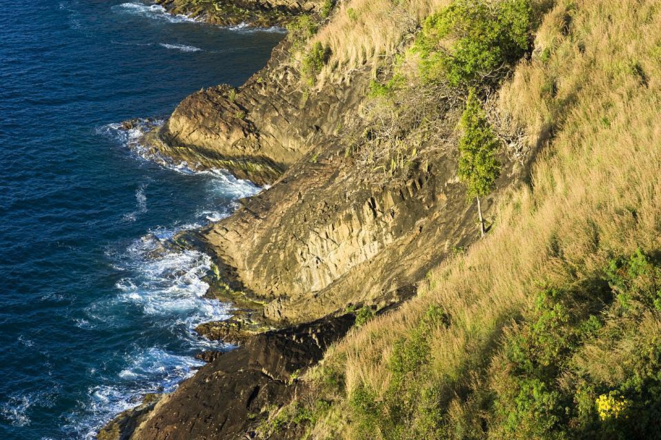 El Parque Nacional Histórico de Pigeon Island , Naturaleza de Pigeon Island , Santa Lucía