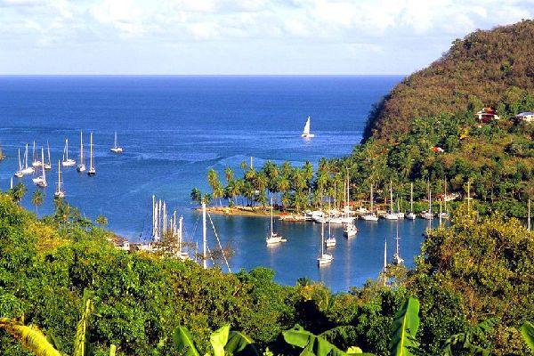 Marigot Bay , St Lucia