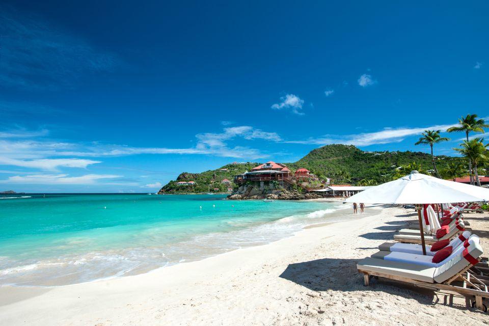 Les plages, Les côtes, Saint- Barthélémy