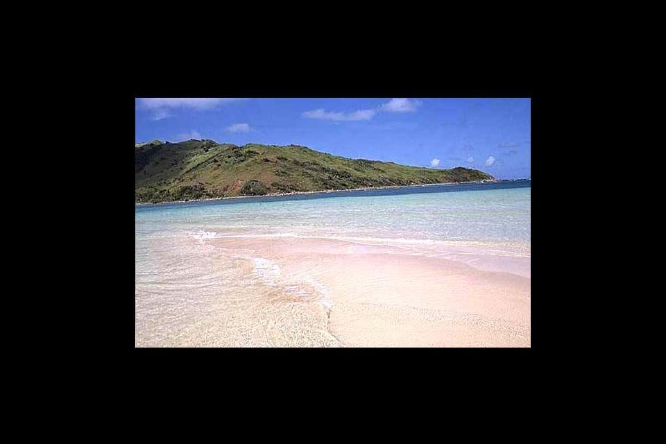 Les plages tranquilles , Saint-Martin