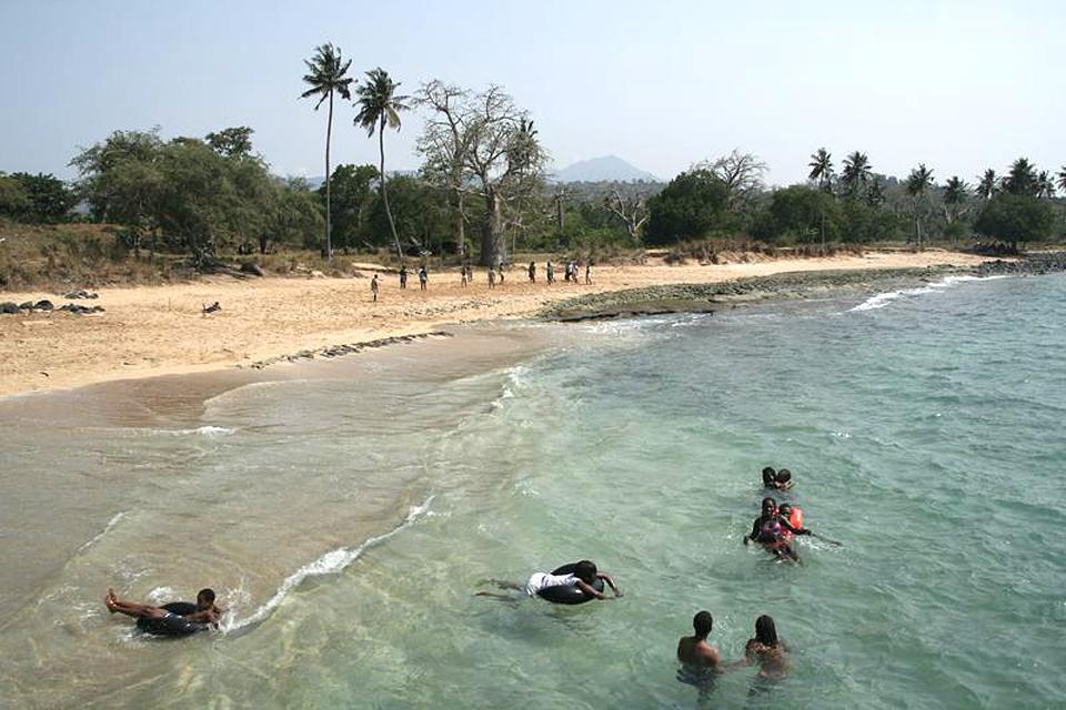 Le parc naturel Obo , São Tomé et Principe