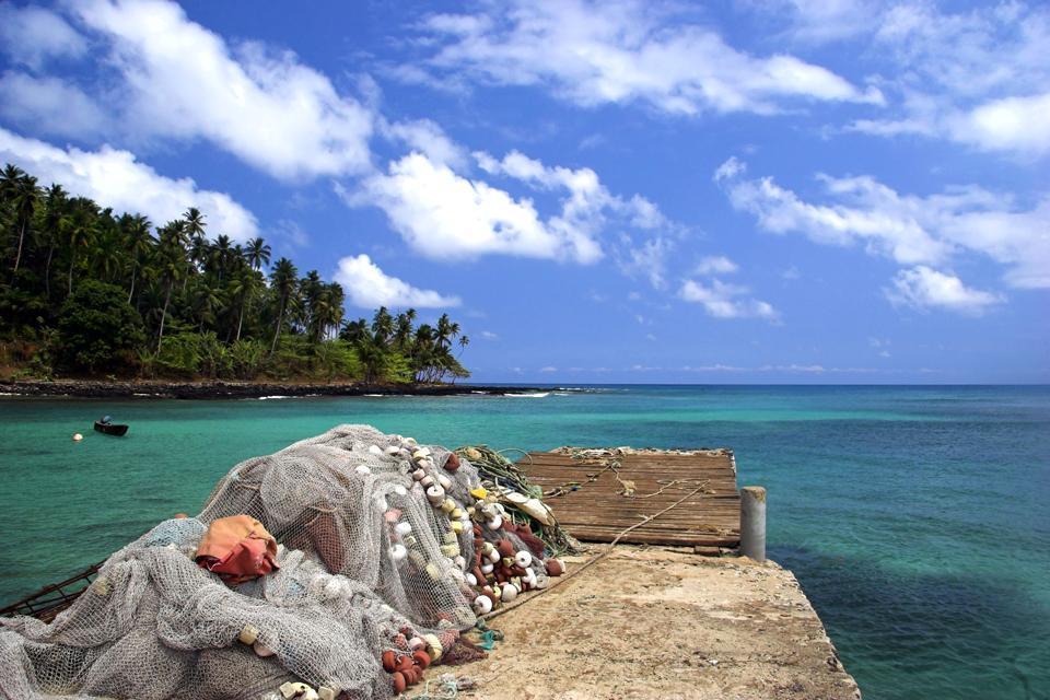 Les plages de São Tomé , São Tomé et Principe