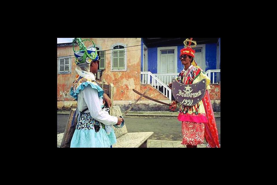 Das Tchiloli-Theater , São Tomé und Principe