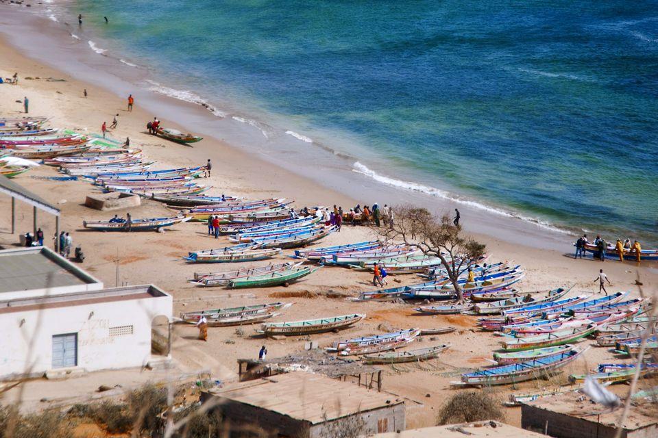 Les paysages, cap-vert, afrique, dakar, ville, mer, pêche, bateau