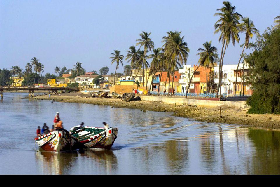 Le rive del fiume Senegal, Il fiume Senegal, I paesaggi, Senegal