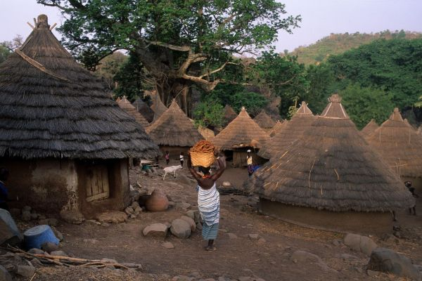 Les paysages, iwol, bassari, sénégal, afrique, tambacounda, rite, croyance