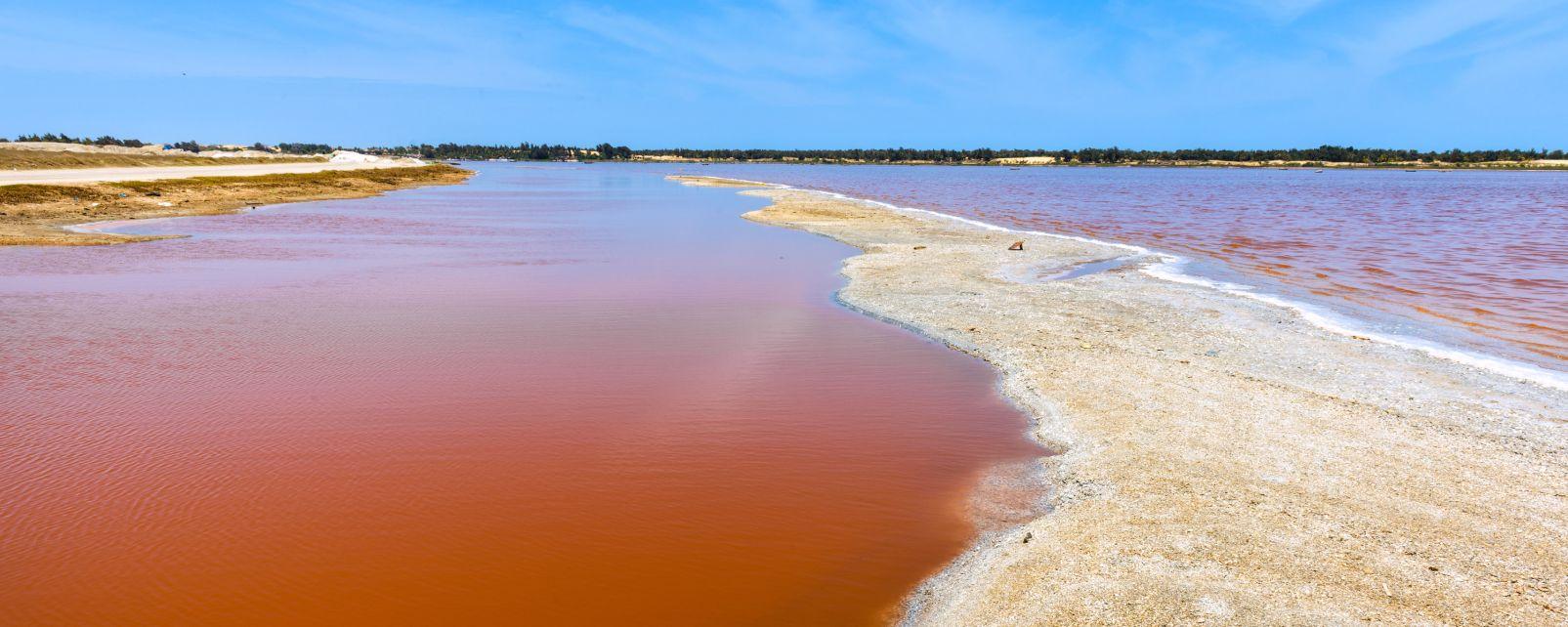Lac Rose (Pink Lake), Le lac Rose, Landscapes, Dakar, Senegal