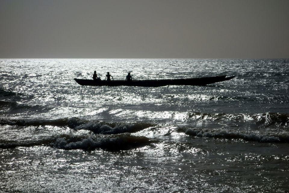 A successful day of fishing, Petite Côte, Coasts, Senegal