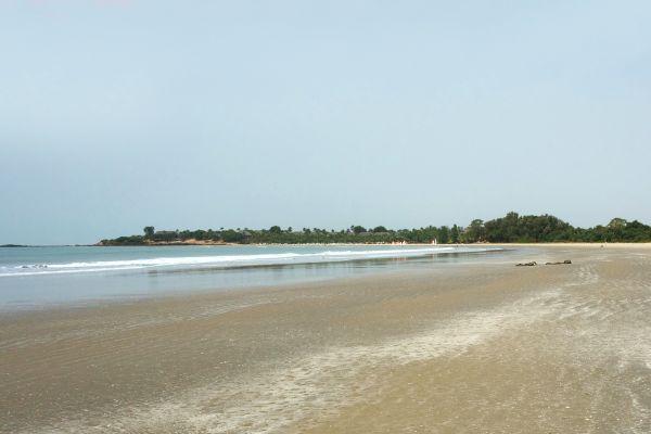 Le Cap Skirring, Les côtes, Le Nord du Sénégal