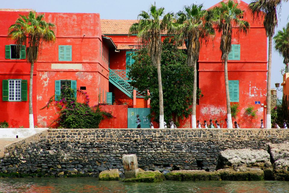 Die Insel Goree , Strand am Anse de Gorée , Senegal