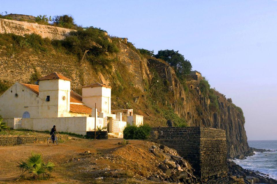 L'isola di Gorée , Edificio coloniale , Senegal