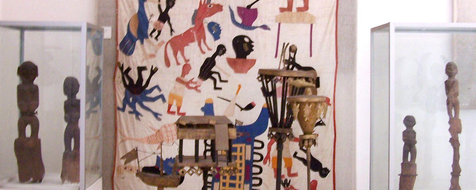 Das IFAN-Museum, Das Museum von Ifan, Die Künste und die Kultur, Senegal