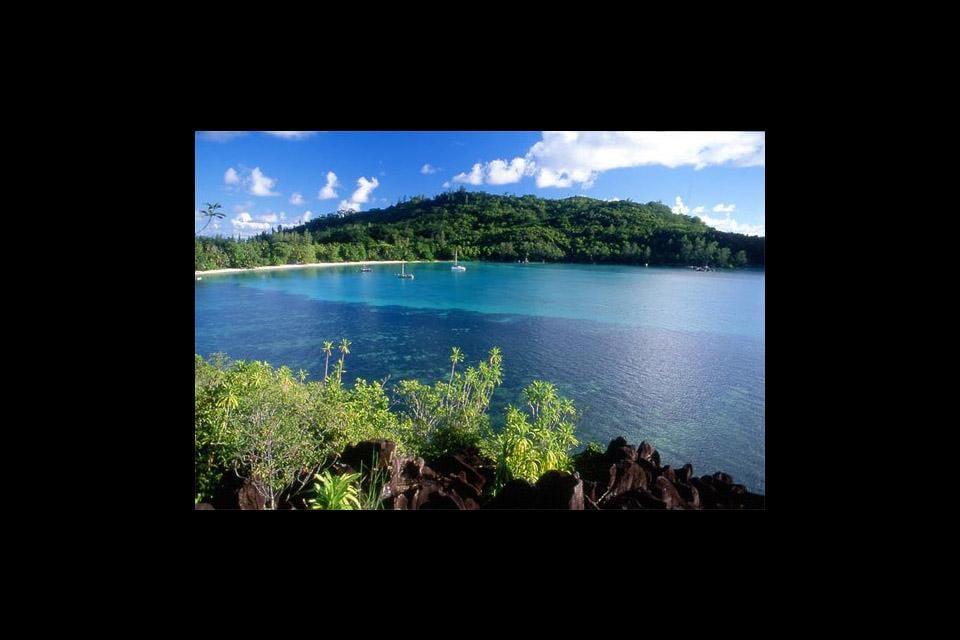 Die Hauptinseln , Mahé, Praslin und Digue , Seychellen