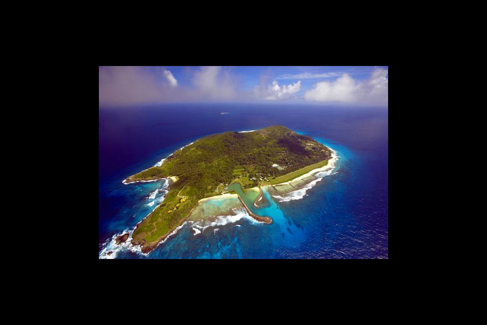Frégate , Un paraíso para los botánicos , Las Seychelles
